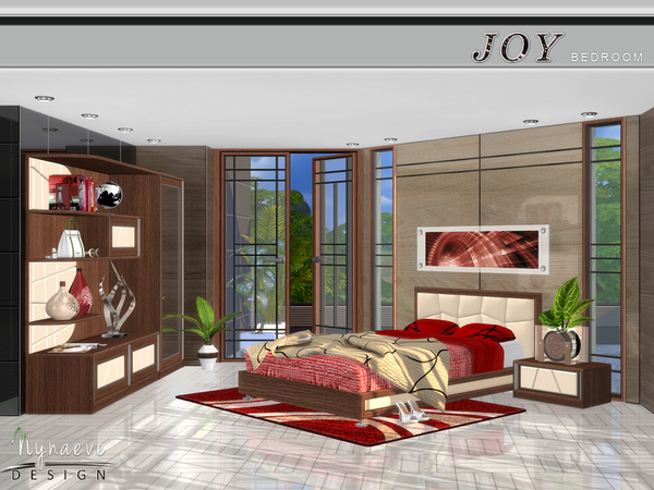 Joy Bedroom by NynaeveDesign at TSR image 726 Sims 4 Updates