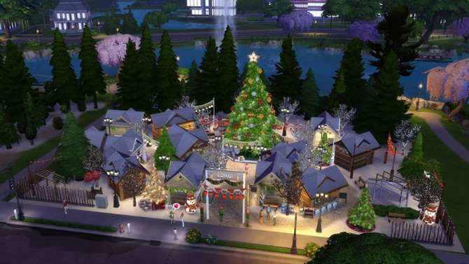 5 Great Holiday Lots at The Sims™ News image 727 670x377 Sims 4 Updates