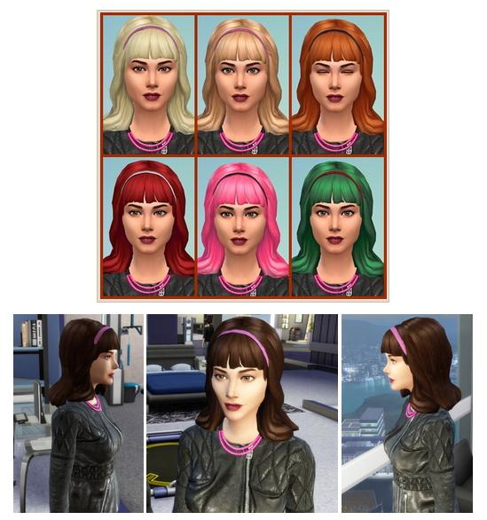 Sims 4 Hairspray Hair at Birksches Sims Blog