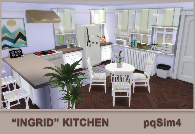 Ingrid Kitchen by Mary Jiménez at pqSims4 image 733 Sims 4 Updates
