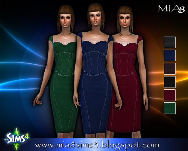6 new dresses at MIA8 image 734 Sims 4 Updates