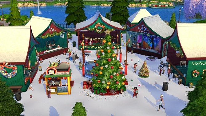 5 Great Holiday Lots at The Sims™ News image 737 670x377 Sims 4 Updates