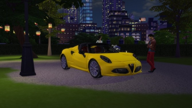 Alfa Romeo 4C Spider at LorySims image 7418 670x377 Sims 4 Updates