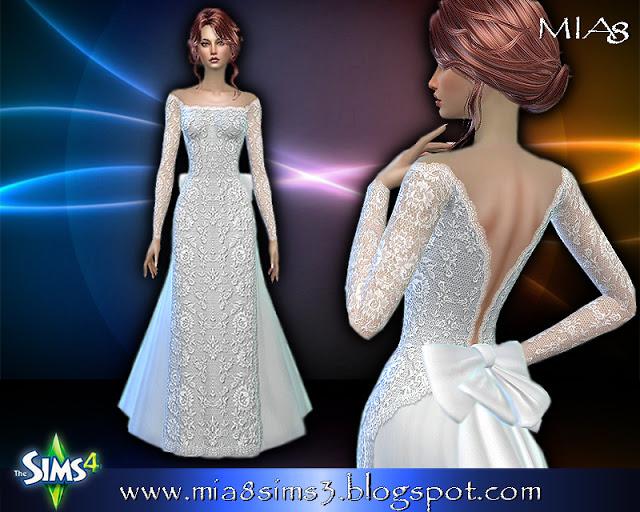 6 new dresses at MIA8 image 744 Sims 4 Updates