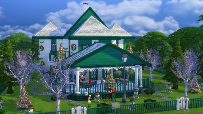 5 Great Holiday Lots at The Sims™ News image 747 670x377 Sims 4 Updates