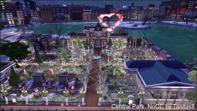 Central Park noCC at Tanitas8 Sims image 7514 Sims 4 Updates