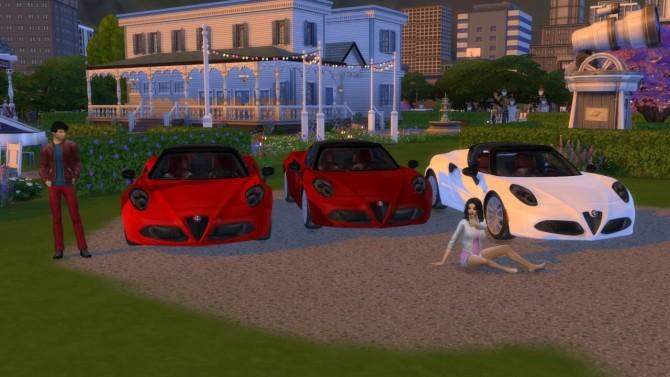Alfa Romeo 4C Spider at LorySims image 7517 670x377 Sims 4 Updates