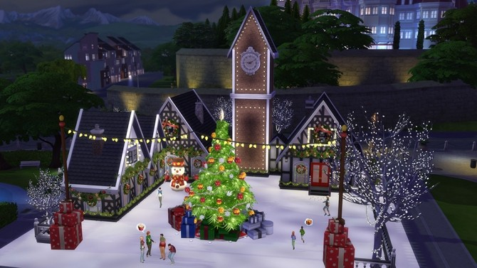 5 Great Holiday Lots at The Sims™ News image 756 670x377 Sims 4 Updates