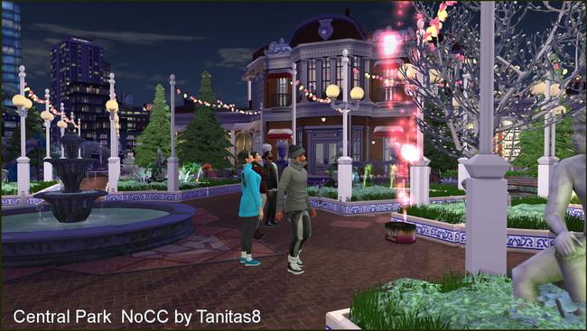Central Park noCC at Tanitas8 Sims image 7614 Sims 4 Updates