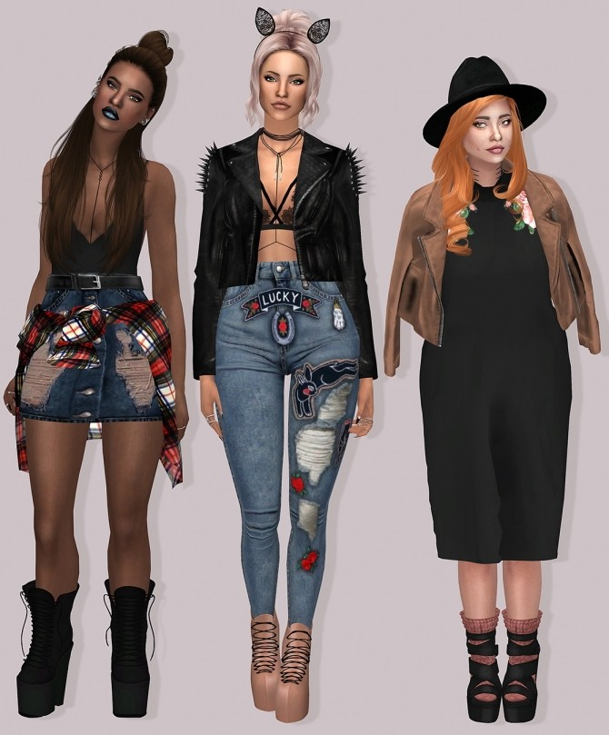Sims 4 Tractusopticus Shoes Part 1 at Lumy Sims