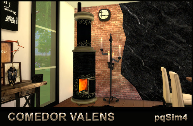 Valens Diningroom by Mary Jiménez at pqSims4 image 777 Sims 4 Updates