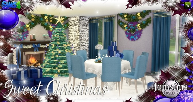 Sweet Christmas Dining Set at Jomsims Creations image 7811 670x355 Sims 4 Updates
