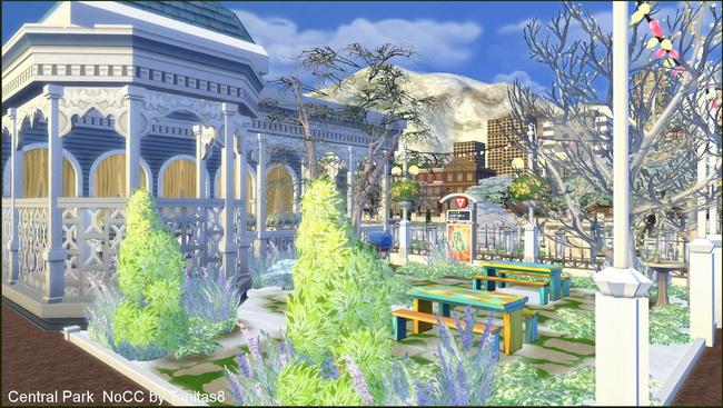 Central Park noCC at Tanitas8 Sims image 7815 Sims 4 Updates