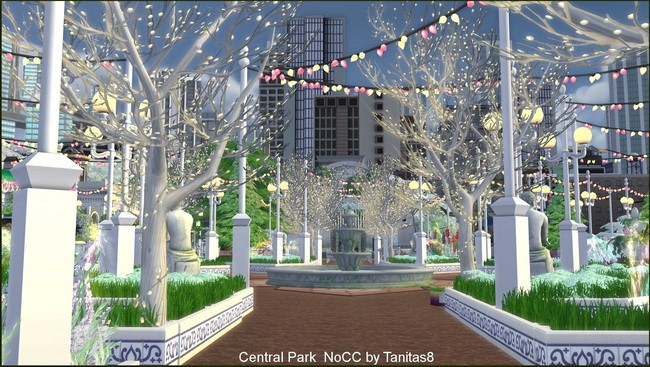 Central Park noCC at Tanitas8 Sims image 7914 Sims 4 Updates