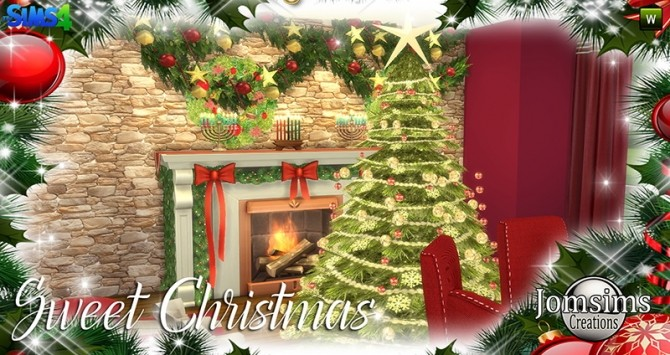 Sweet Christmas Dining Set at Jomsims Creations image 8010 670x355 Sims 4 Updates