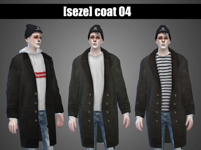 Coat 04 (A+B) at Seze image 8011 670x500 Sims 4 Updates
