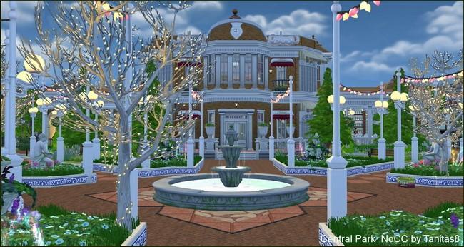 Central Park noCC at Tanitas8 Sims image 8012 Sims 4 Updates
