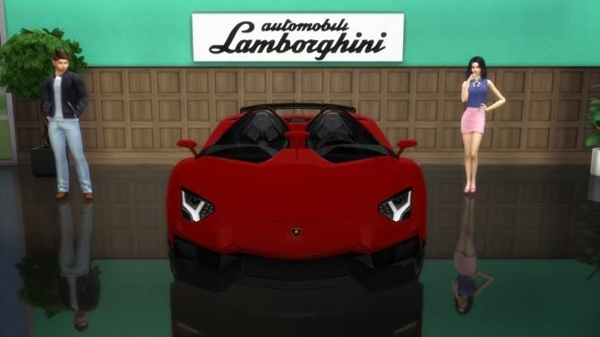 Lamborghini Aventador J at LorySims image 806 670x377 Sims 4 Updates
