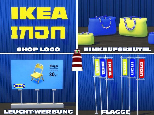IKEA build set by Bildlichgesehen at Akisima image 8114 Sims 4 Updates