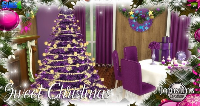 Sweet Christmas Dining Set at Jomsims Creations image 8115 670x355 Sims 4 Updates