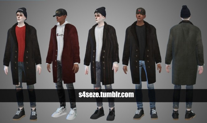 Coat 04 (A+B) at Seze image 8117 670x401 Sims 4 Updates