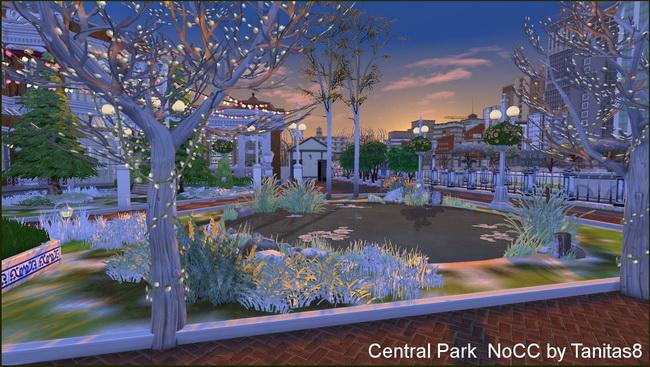 Central Park noCC at Tanitas8 Sims image 8119 Sims 4 Updates