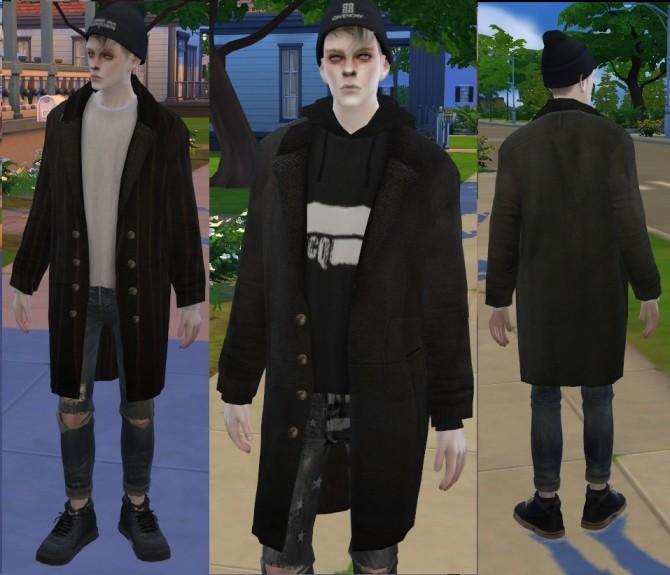 Coat 04 (A+B) at Seze image 8213 670x575 Sims 4 Updates