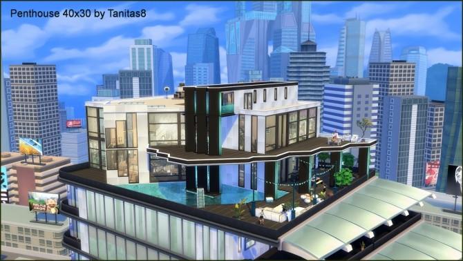 Penthouse 40x30 at Tanitas8 Sims image 8215 670x378 Sims 4 Updates