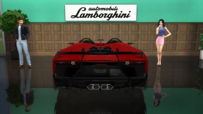 Lamborghini Aventador J at LorySims image 827 670x377 Sims 4 Updates