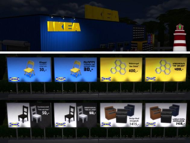 IKEA build set by Bildlichgesehen at Akisima image 8310 Sims 4 Updates