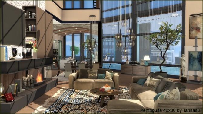 Penthouse 40x30 at Tanitas8 Sims image 8314 670x378 Sims 4 Updates