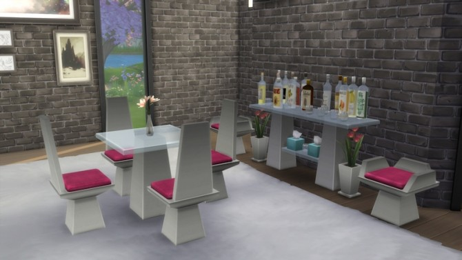 Bon Appétit Set by LaLunaRossa at About Sims image 839 670x377 Sims 4 Updates