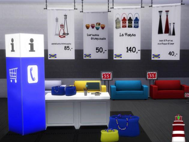 IKEA build set by Bildlichgesehen at Akisima image 8410 Sims 4 Updates