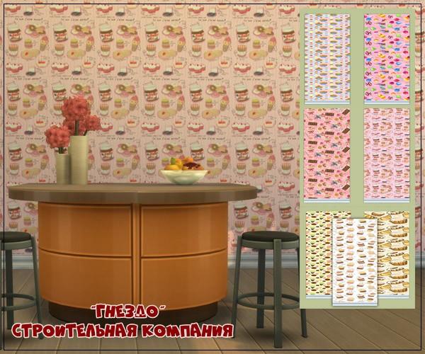 Sims 4 Sweets wallpaper at Sims by Mulena