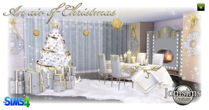 Air of christmas 2016 set at Jomsims Creations image 842 670x355 Sims 4 Updates
