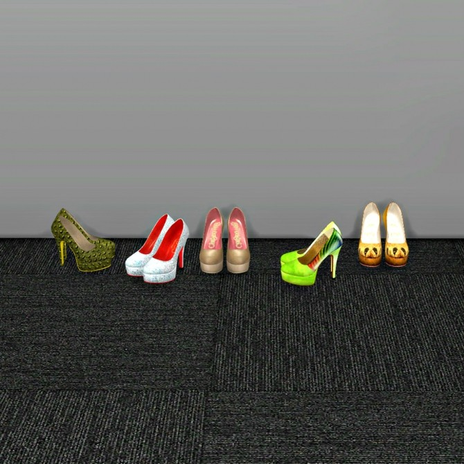 Sims 4 Milla Classic Pumps at Leo Sims