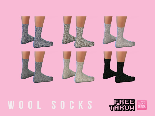 Wool socks at CC freethrow image 8618 Sims 4 Updates