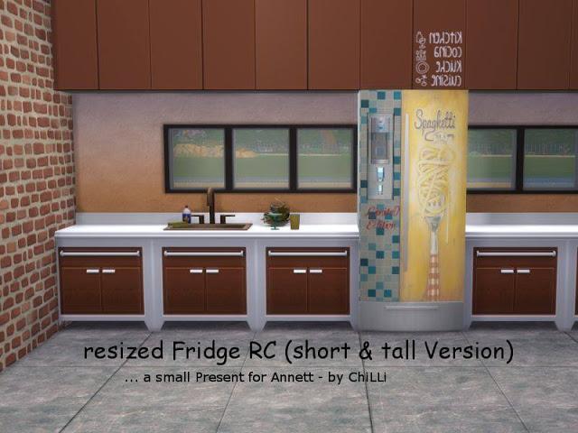 Fridge Part 5 New Sizes at Annett's Sims 4 Welt image 866 Sims 4 Updates
