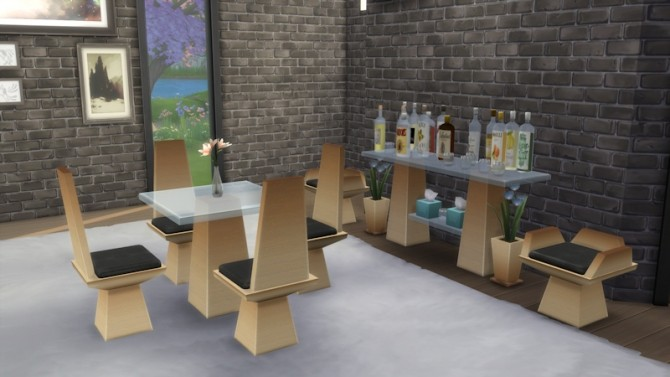 Bon Appétit Set by LaLunaRossa at About Sims image 869 670x377 Sims 4 Updates