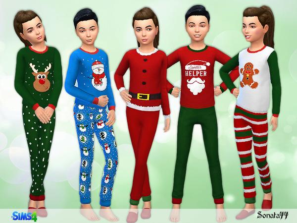 Boys Christmas Jammies
