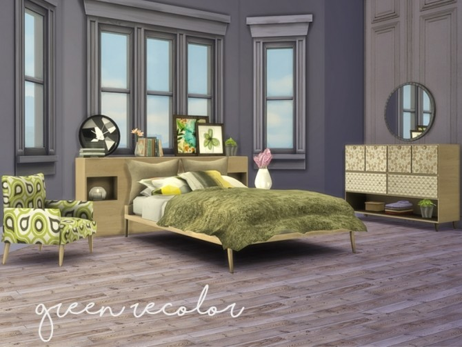 My First Apartment Bedroom at Nikadema Designs » Sims 4 Updates