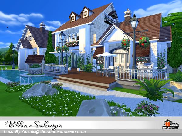 Sims 4 Villa Sabaya by autaki at TSR