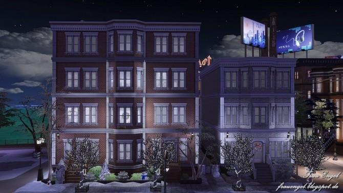 Winter Street ,125 by Julia Engel at Frau Engel image 8812 670x377 Sims 4 Updates