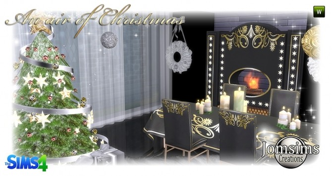 Air Of Christmas 2016 Set At Jomsims Creations 187 Sims 4