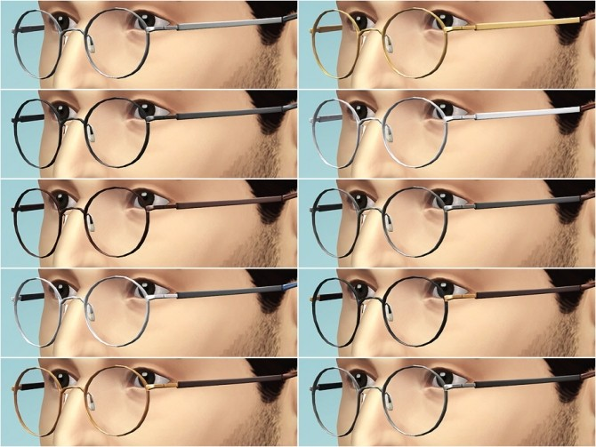 Eyeglasses N46 at Rusty Nail image 885 670x503 Sims 4 Updates