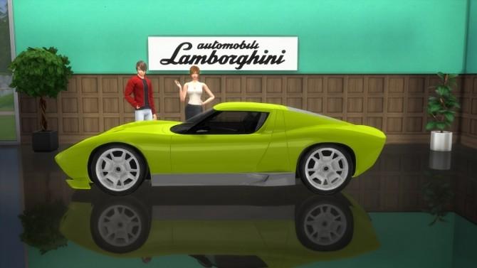 Lamborghini Miura Concept at LorySims image 887 670x377 Sims 4 Updates