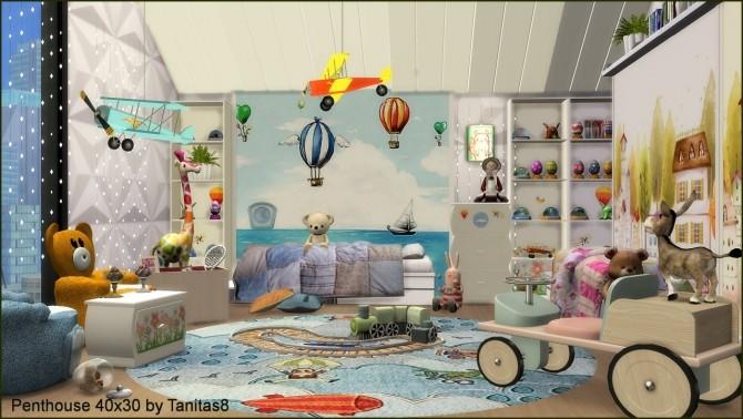 Penthouse 40x30 at Tanitas8 Sims image 8914 670x378 Sims 4 Updates