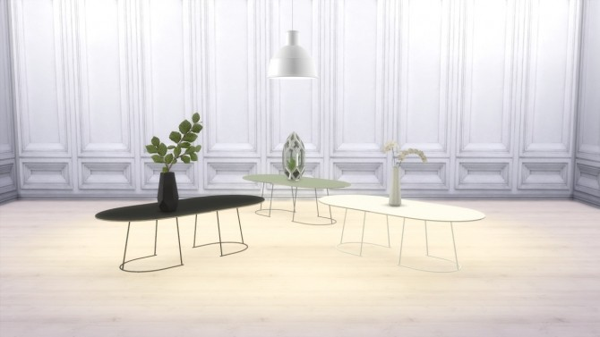 Sims 4 Airy Coffee Table at Meinkatz Creations