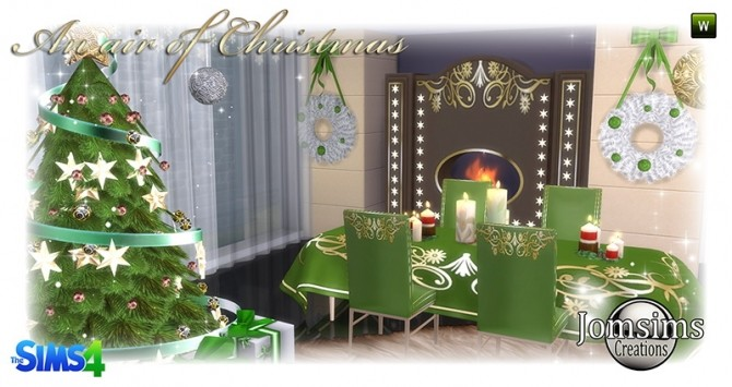 Air of christmas 2016 set at Jomsims Creations image 892 670x355 Sims 4 Updates
