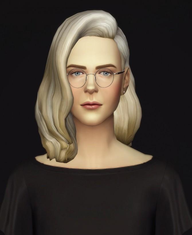 Sims 4 Long Wavy Classic Edit V3 F at Rusty Nail